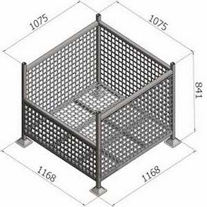 bremco pallet cages and stillages