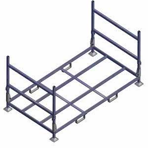 pallet cages and steel stillages